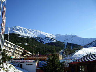La Pinilla ski resort - Image: La Pinilla 12 2008