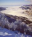 La Valle Borbera coperta di nubi dalla vetta dell'Antola.jpg