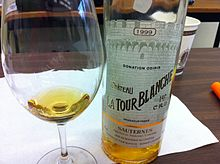 A 1999 Sauternes From La Tour Blanche This Winery Was Classed Premier Cru In 1855
