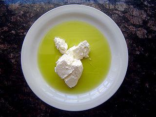 Strained yogurt dairy product
