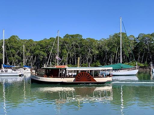 Lady Douglas River Cruise, Port Douglas, Queensland , 2020, 02