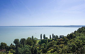 Lake Balaton at Tihany, Hungary.jpg