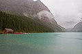 Lake Louise in the Rain (8034051911).jpg