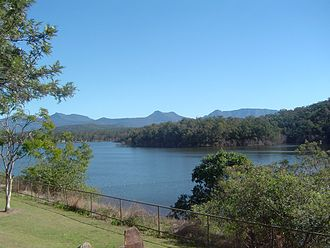 Scenic Rim Region - Moogerah Dam and Main Range, 2011