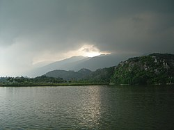 Lake in Zhaoqing.JPG