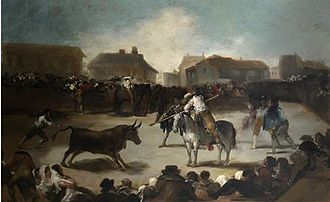 Francisco Lameyer - Image: Lameyer Bullfight