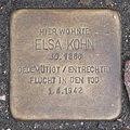 Landshut Stolperstein Kohn, Elsa.jpg