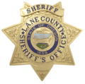 Lane County, Oregon - Sheriff Star Transparent.png