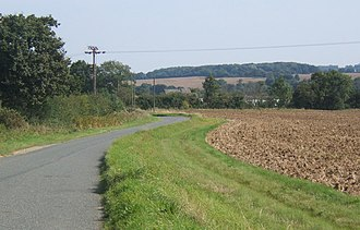 Shimpling - Lane to Shimpling from Stanstead