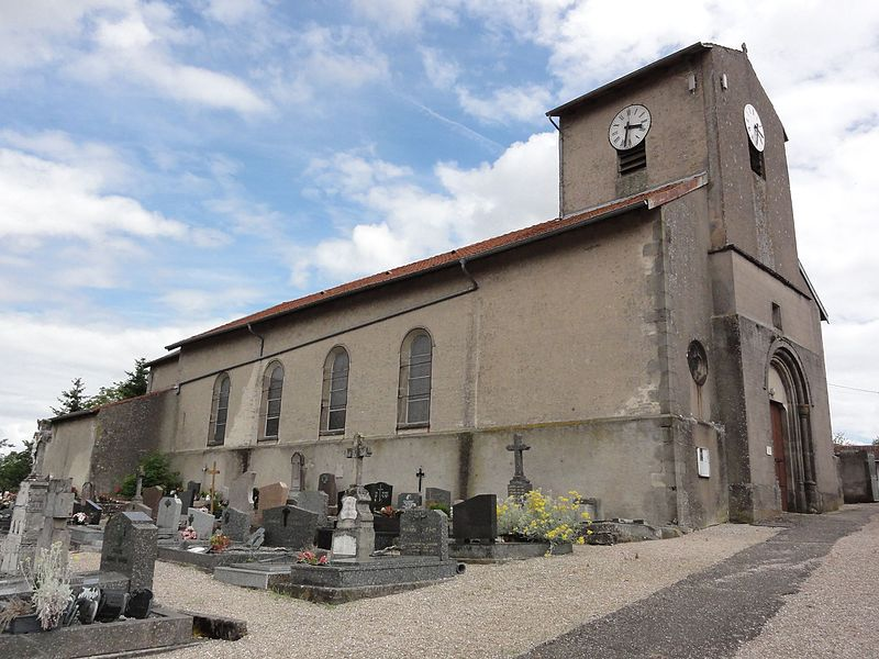 Laneuveville-devant-Bayon (M-et-M) église