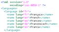Languages xml.png