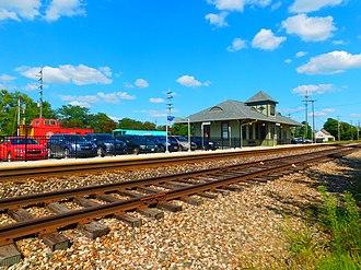Lapeer station - The Lapeer station in September 2016.