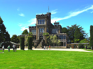 Larnach Castle, Dunedin, New Zealand