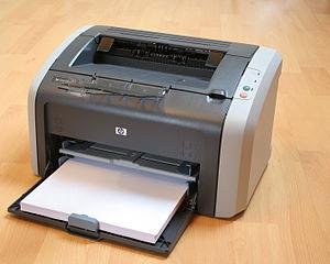 HP LaserJet - HP LaserJet 1012, a low-end personal laser printer