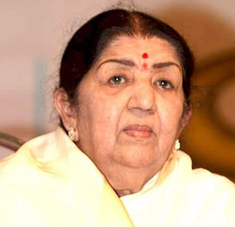 "Indian singer Lata Mangeshkar is widely acknowledged as the ""Queen of Melody"" & ""Voice of the Millennium"". She has recorded more than 25,000 songs in over 36 regional Indian languages and foreign language. Lata-Mangeshkar.jpg"