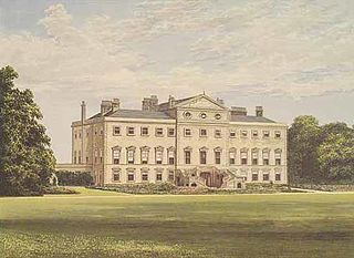 Lathom House country house in Lancashire, England