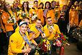 Latvijas Olimpiskās komandas sagaidīšana lidostā Rīga 01.jpg