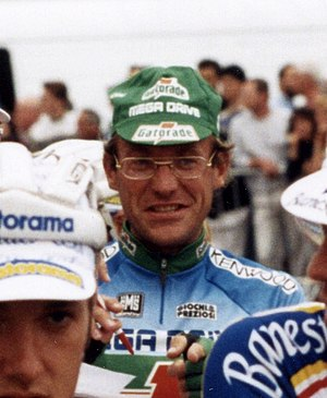 1984 Tour de France - Laurent Fignon (pictured at the 1993 Tour), winner of the general classification
