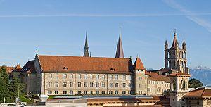 La Cité (Lausanne) - Image: Lausanne old academy