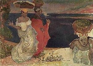 Charles Laval - Image: Laval Femmes au bord de la mer