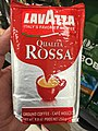 Lavazza Qualita Ross Caffee Espresso - Made in Italy - Front of Package.jpg