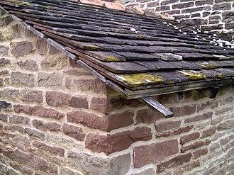 Vôge Plateau - Flagstone roof