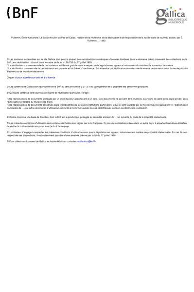 File:Le Bassin Houiller du Pas-de-Calais. Tome III - Émile Vuillemin.pdf