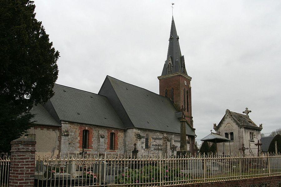 Église Saint-Pierre du Theil-en-Auge.