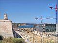 Le chantier du MuCEM en juillet 2012 (Marseille) (7597468306).jpg