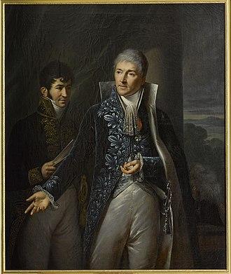 Louis-Guillaume Otto - Louis Otto, comte de Mosloy with Comte Pelet de la Lozère in attendance