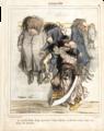 Le terrible Barbe Rouge accrochant Frédéric Bastiat, sa dernière victime, dans son cabinet de curiosités.png