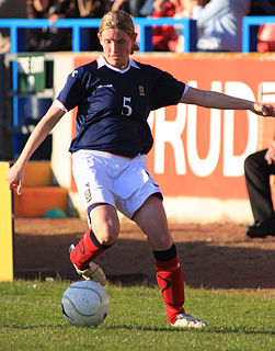 Leanne Ross Scottish footballer