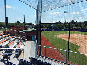 Husky Field (softball) - Image: Left field from the grandstands at Husky Field Softball