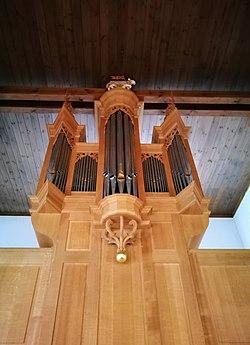 Lenningen-Brucken, Evangelische Kirche, Orgel (17).jpg
