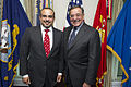 Leon Panetta and Prince Salman bin Hamad al Khalifa at the Pentagon May 10 2012.jpg