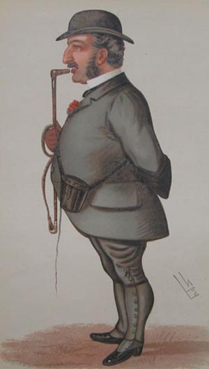 St. Frusquin - Leopold de Rothschild, St. Frusquin's owner