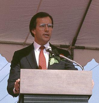 Les AuCoin - Congressman AuCoin in 1986