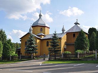 Leszczowate - Church in Leszczowate