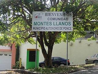 Montes Llanos Barrio of Ponce, Puerto Rico