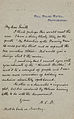 Letter from Arthur Conan Doyle to Herbert Greenhough Smith 1903.jpg