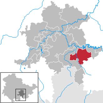 Leutenberg - Image: Leutenberg in SLF