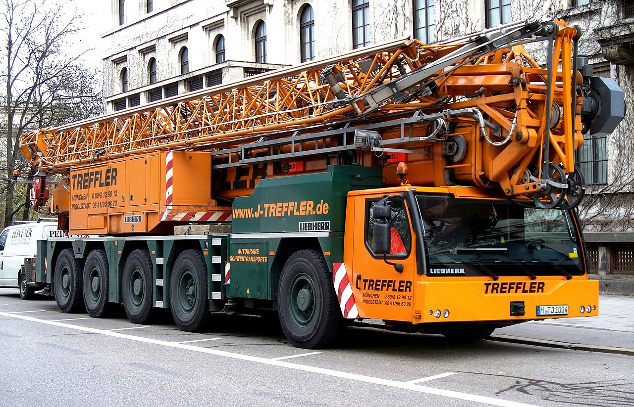 file liebherr mobile crane in wikimedia commons. Black Bedroom Furniture Sets. Home Design Ideas