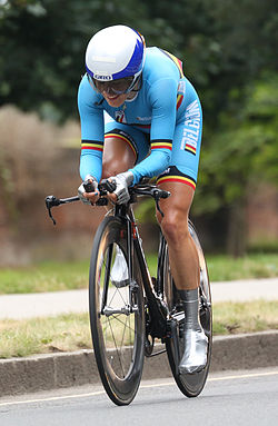 Liesbet De Vocht, London 2012 Time Trial - Aug 2012.jpg