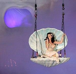 Katy Perry at the Life Ball 2009, Rathaus, Vienna.