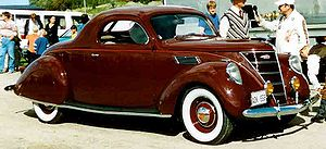 Lincoln-Zephyr V12 Coupé 1937