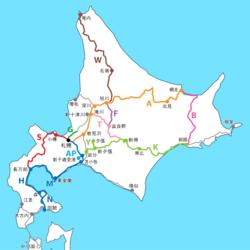 日本の鉄道ラインカラー一覧
