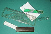 A variety of rulers
