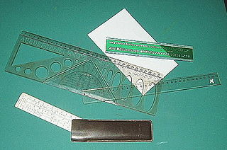 Ruler An instrument used to measure distances or to rule straight lines