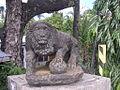Lion on Guimbal Iloilo bridge.JPG