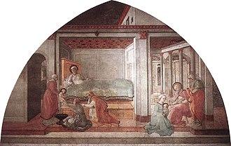 Stories of St. Stephen and St. John the Baptist - Birth of St. John the Baptist.